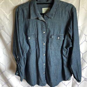 Sonoma Tops - Chambray shirt